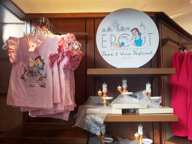 2021-EPCOT-Food-and-Wine-Merch_Beauty-and-the-Beast_Be-our-Guest-Merchandise_Blanken