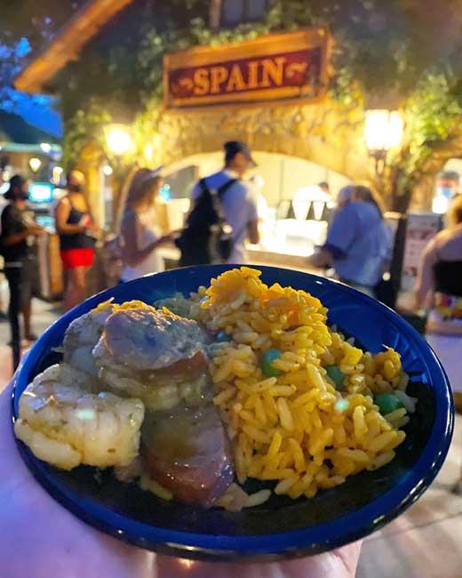 2021-Spanish-style Paella-EPCOT-Food-and-Wine_McBride
