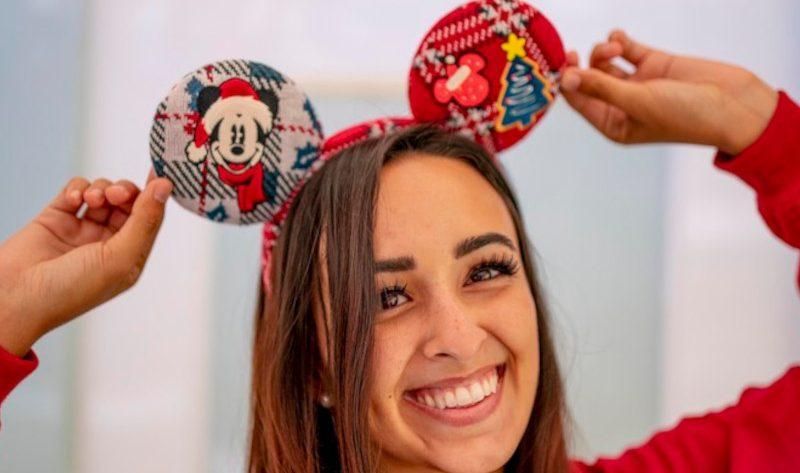 Holiday themed Mickey Ears