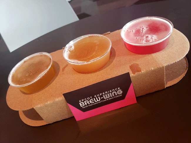 2021_EPCOT_Food-and-Wine-Festival_Brew-Wing-Menu_Beer-Flight_Todd-Turner