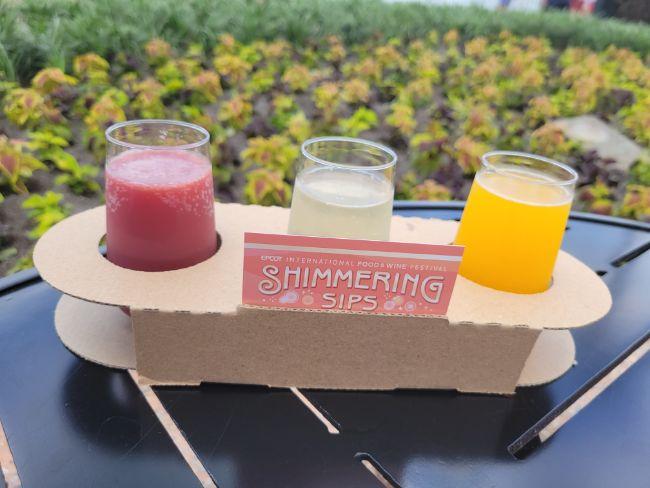 2021_EPCOT_Food-and-Wine-Festival_Shimmering-Sips-Menu_Mimosa-Flight-Review_Tatjana-Lazar