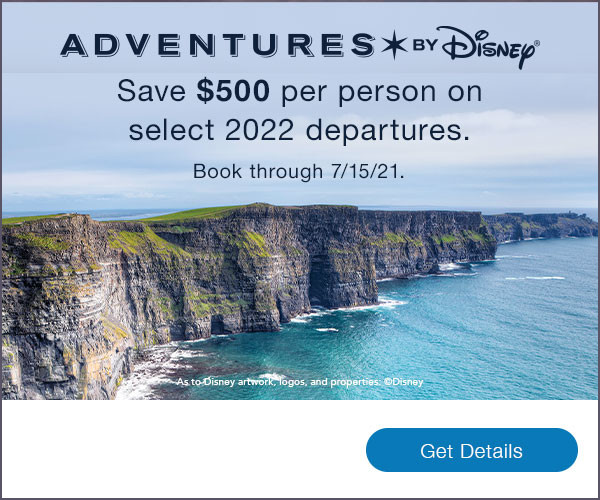 Tap here to SAVE on 2022 Adventures by Disney departures!