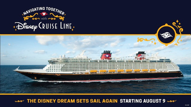 disney dream resuming sailings in august 2021