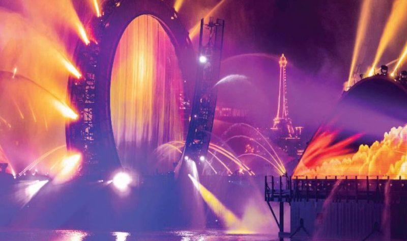 behind the scenes of epcot's harmonious fireworks