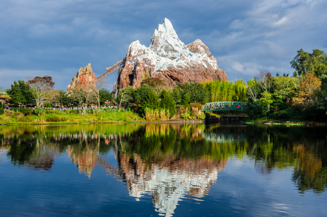 Expedition Everest at Disney's Animal Kingdom - what does disney world look like