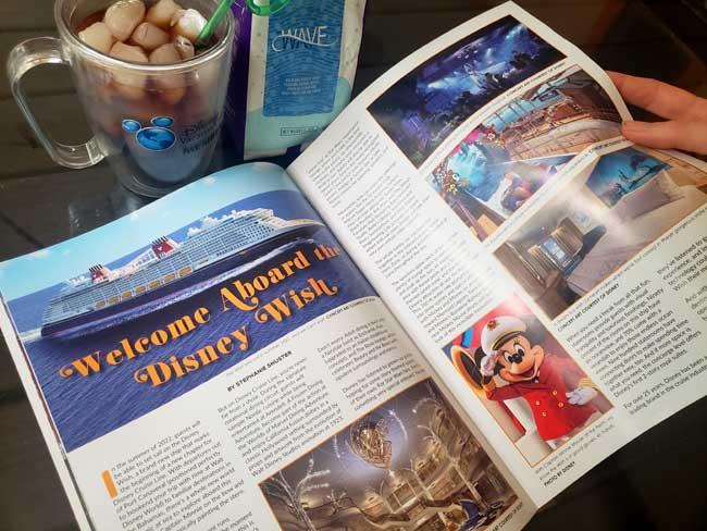 Joffreys The Wave Coffee WDW Magazine June 2021 Issue Disney Wish