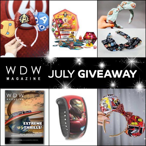 July WDW Magazine Giveaway