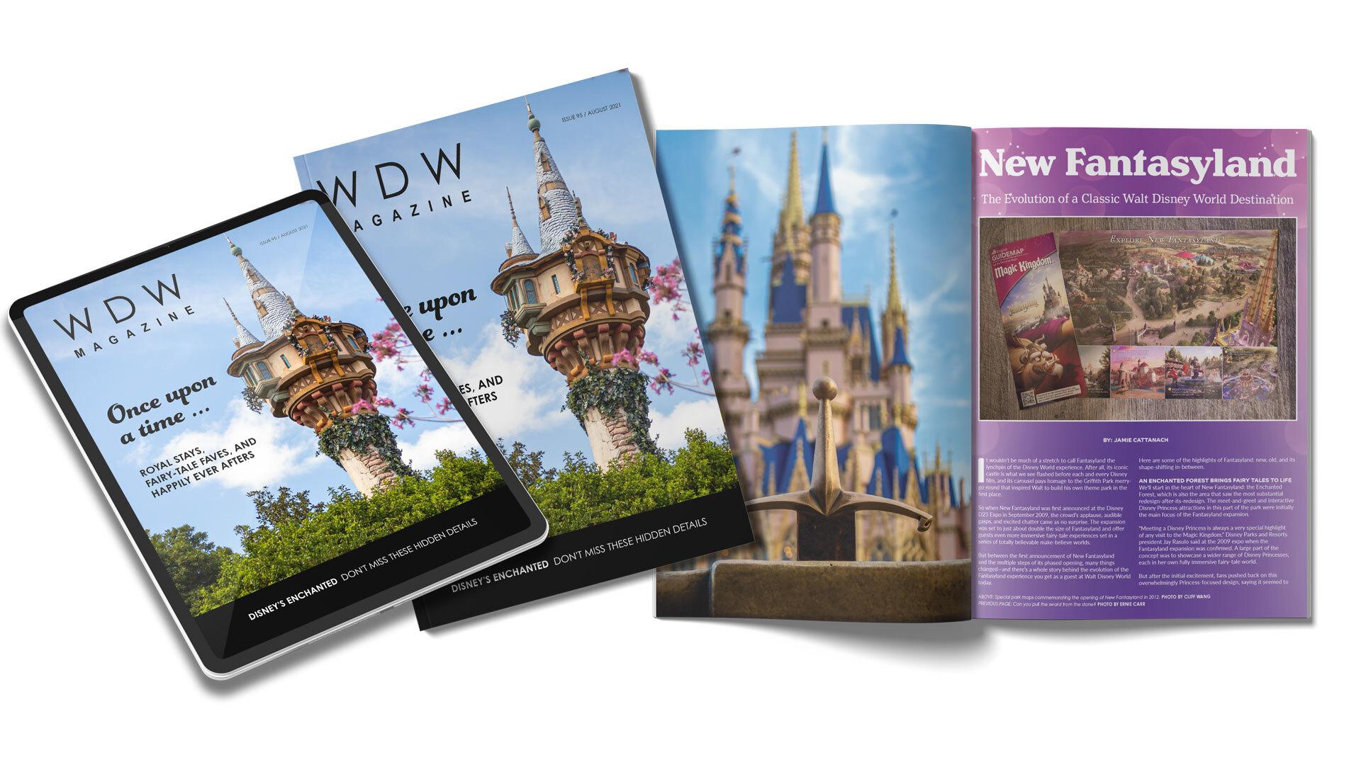 WDW Magazine August 2021