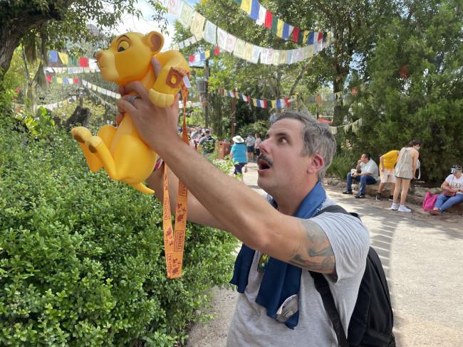 Simba popcorn bucket animal kingdom