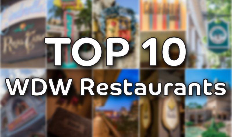 top 10 most popular walt disney world restaurants