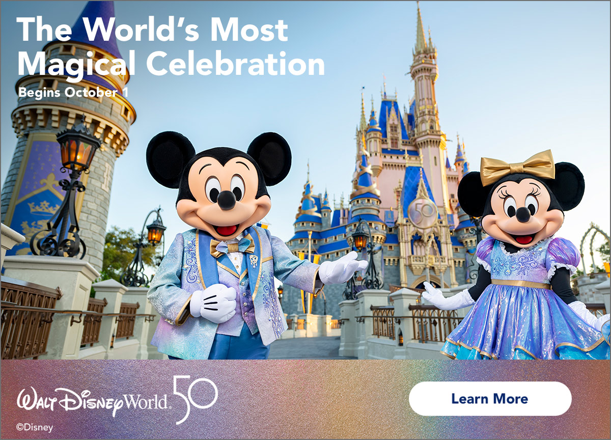 Come see the World's Most Magical Celebration!