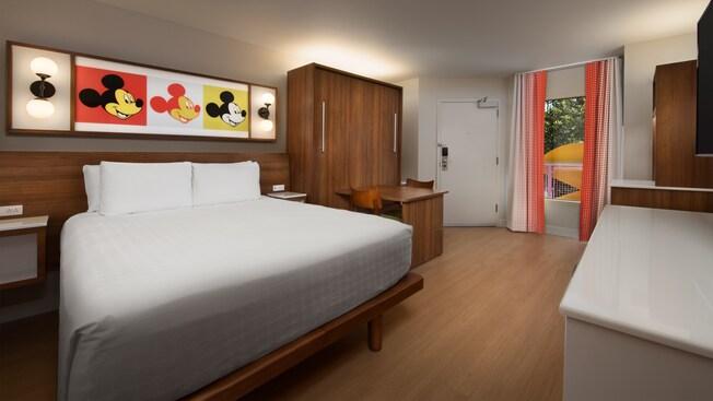 disneys pop century resort standard room florida resident disney hotel discount