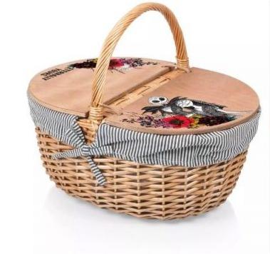 nightmare before christmas merch - picnic basket