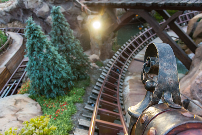 all the facts about seven dwarfs mine train