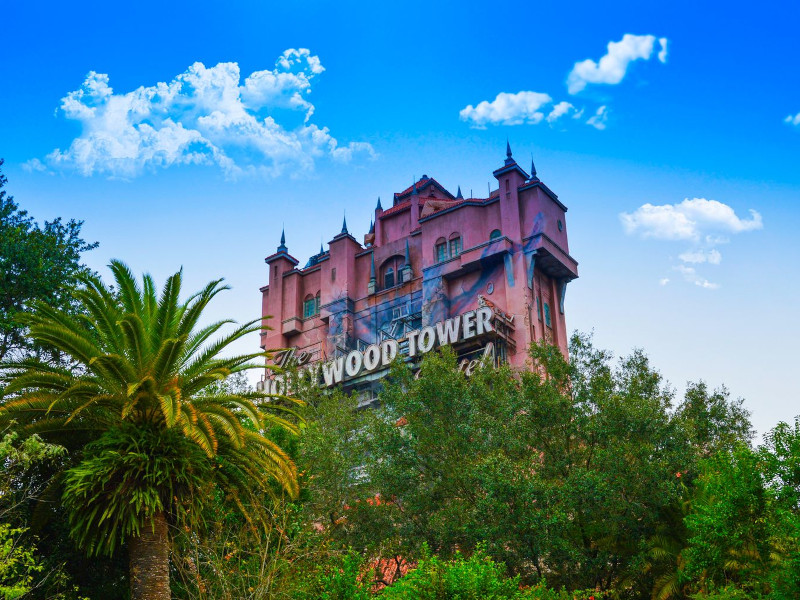 learn the history of the tower of terror's opening day