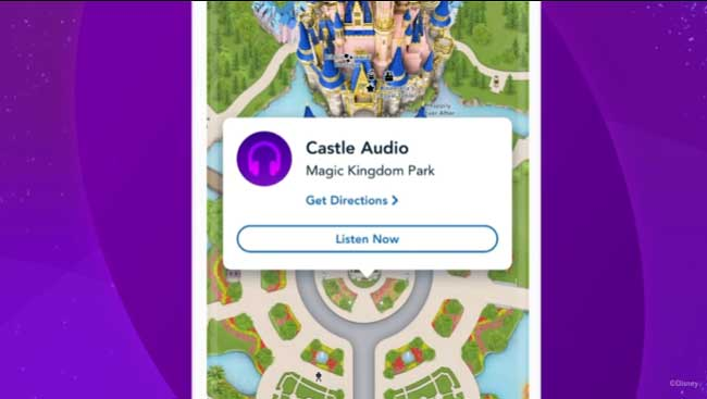 Disney Genie+ Service Audio Experiences in the App_DPB