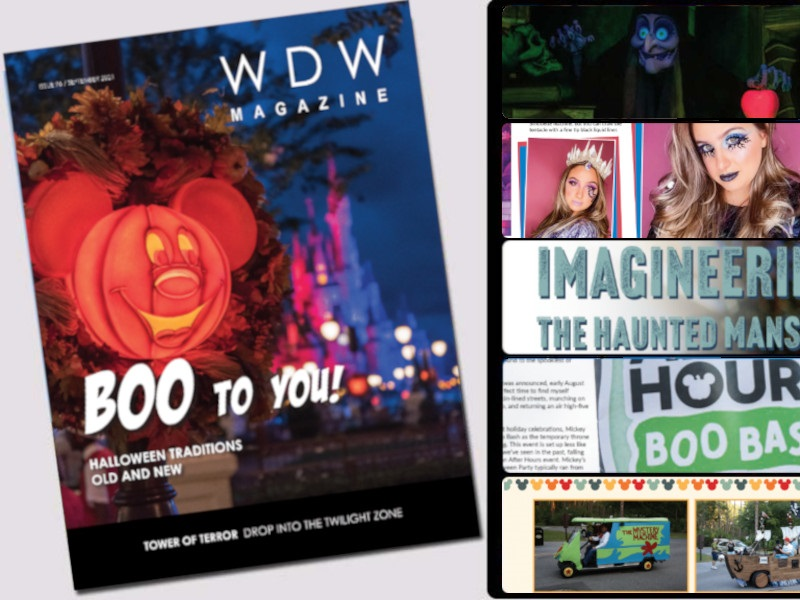 It's a Disney World Halloween Party: Details on Tricks and Treats Revealed