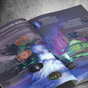 wdw magazine haunted mansion attraction special