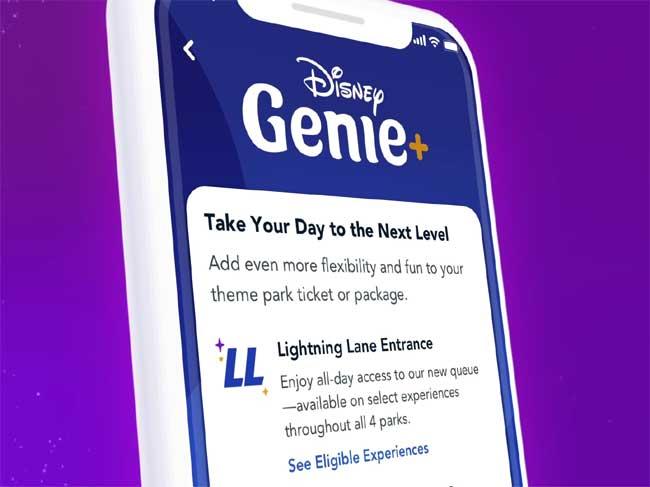 Lightning Lane access of Disney Genie+ Service_DPB