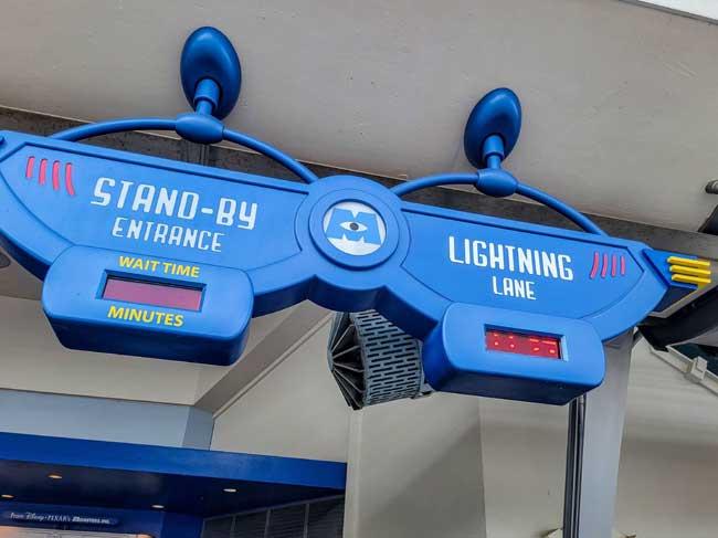 Magic Kingdom Lightning Lanes Monsters Laugh Floor_Lazar