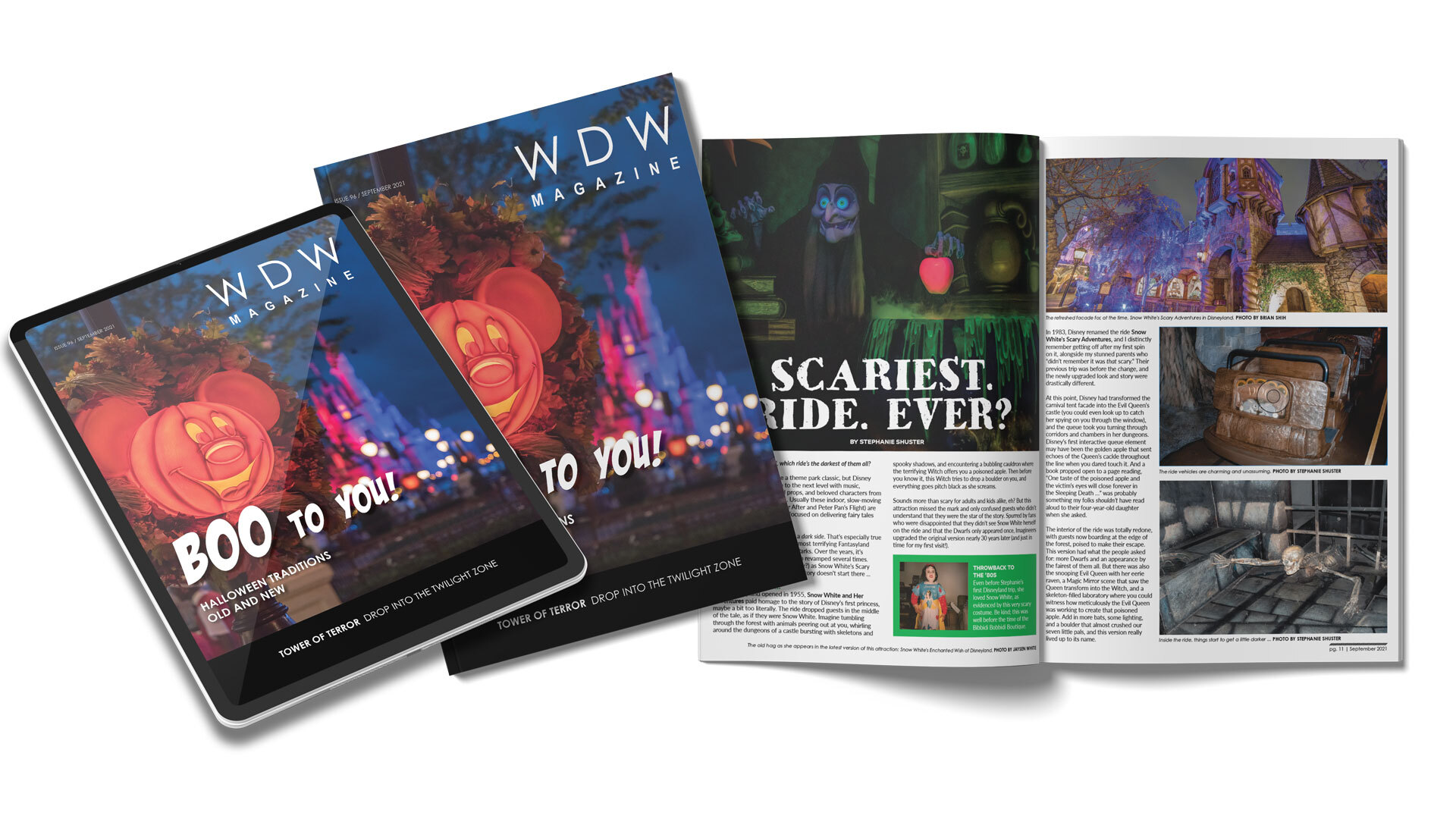 WDW Magazine Preview - September 2021