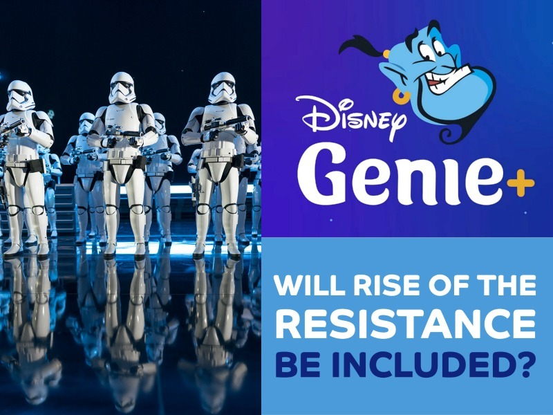 Rise of the Resistance Genie+ Service Inclusion for Lightning Lanes