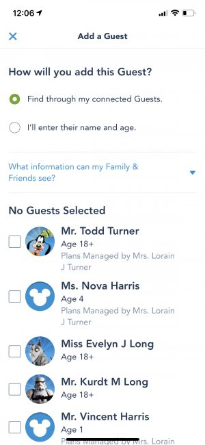 adding-to-family-and-friends-list-my-disney-experiene