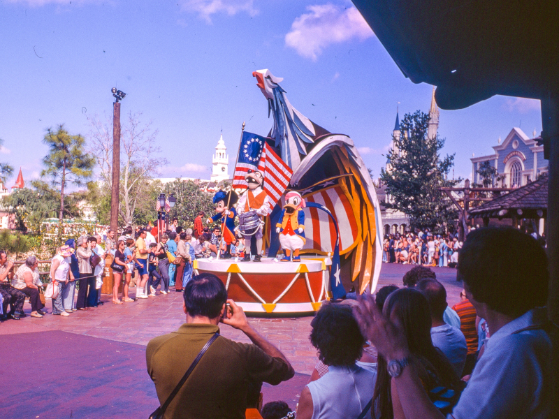 Today in Disney History, 1976: America on Parade Ended at Disneyland and the Magic Kingdom