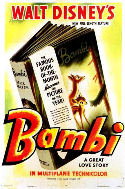 bambi-movie-poster_disney disney animated movies