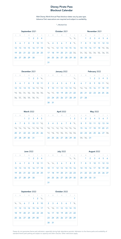 disney-pirate-pass-blockout-calendar_2021-disney-world-annual-pass_disney