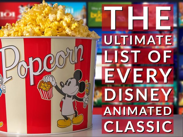 Disney Animated Classics: How to Watch All 60 Movies in Order of Release Date