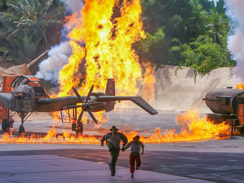 4 Explosive Facts About Indiana Jones Epic Stunt Spectacular!