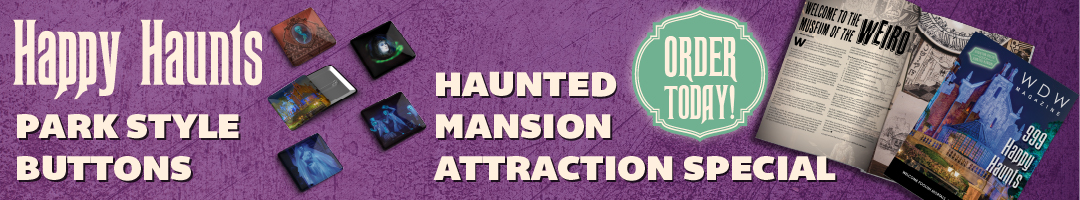 Haunted Mansion Buttons