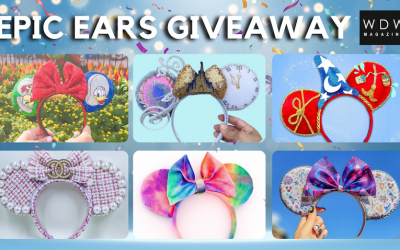 150K Followers – Epic Mickey Ears Giveaway with WDW Magazine