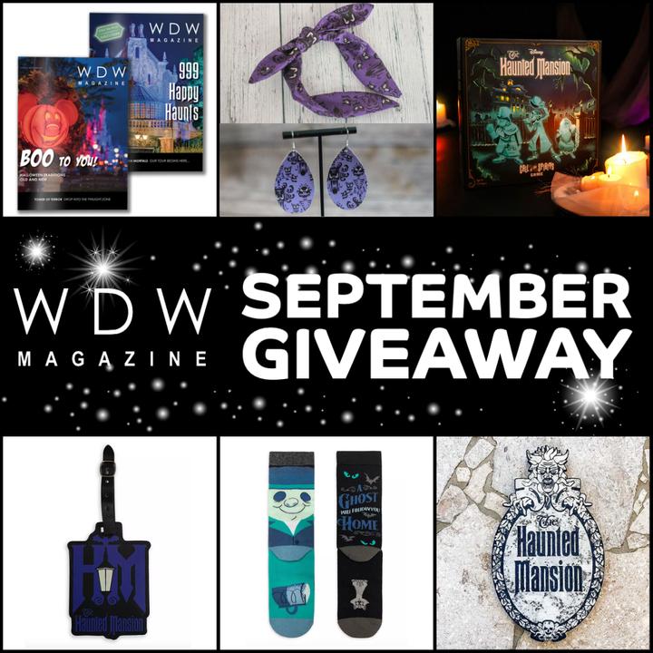 WDW Magazine September Disney Giveaway