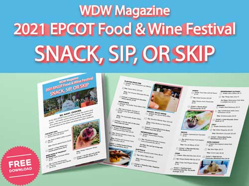 WDW Magazine Best of EPCOT Food and Wine Festival guide