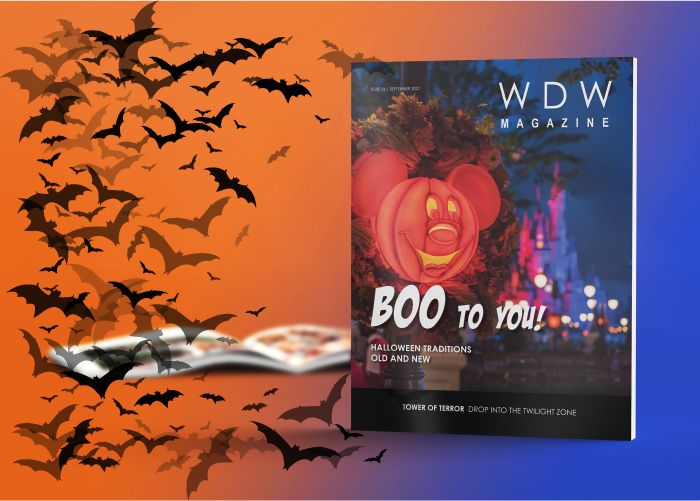 boo-to-you halloween issue wdw magazine
