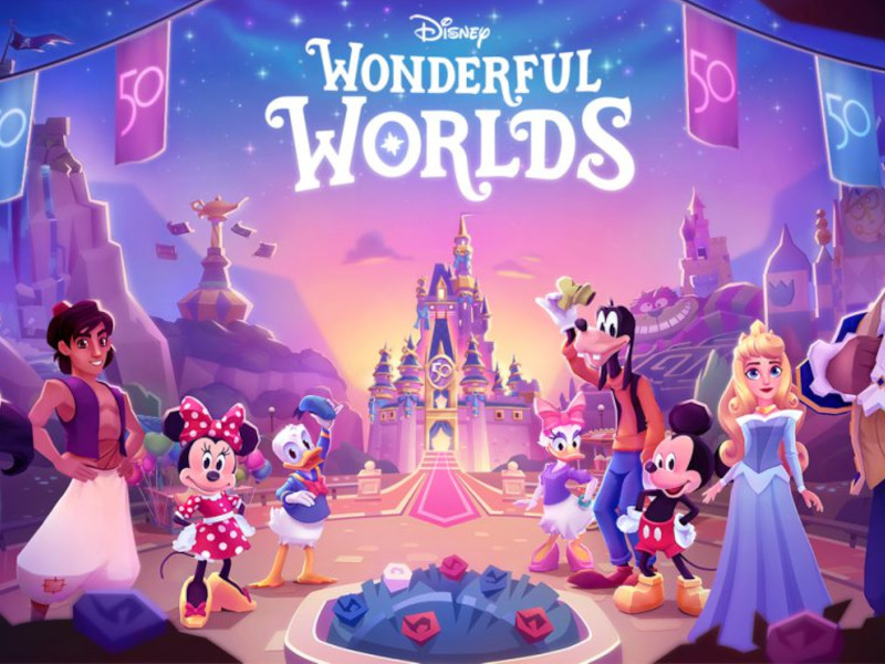 New Disney Mobile Game, Disney Wonderful Worlds, Lets You Build Your Own Theme Park