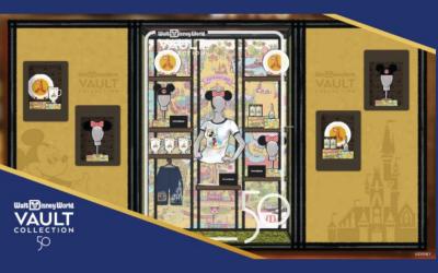 Disney Offers Sneak Peek at New Vault Collection Shop Design