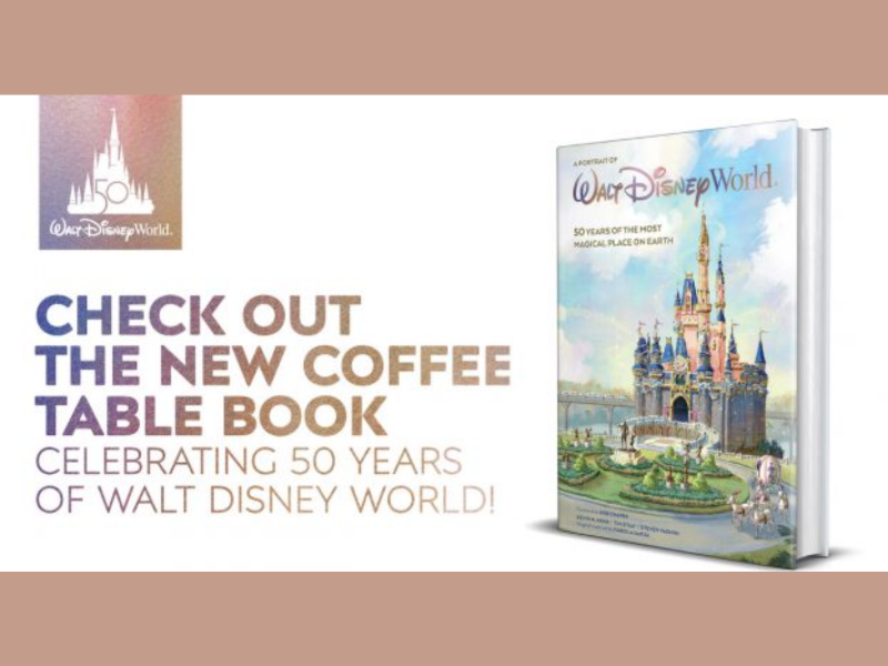 Get a New Disney World Coffee Table Book (or Two!) for the 50th Anniversary