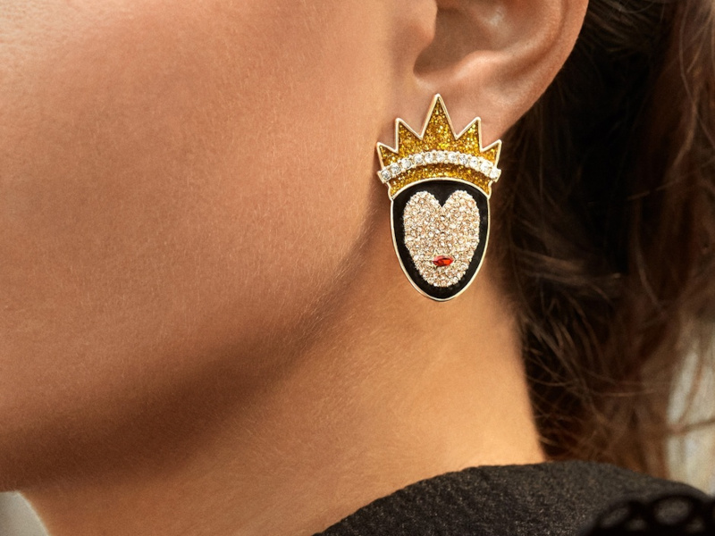 Pay the Toll for These Disney Villain Earrings from Baublebar This Halloween