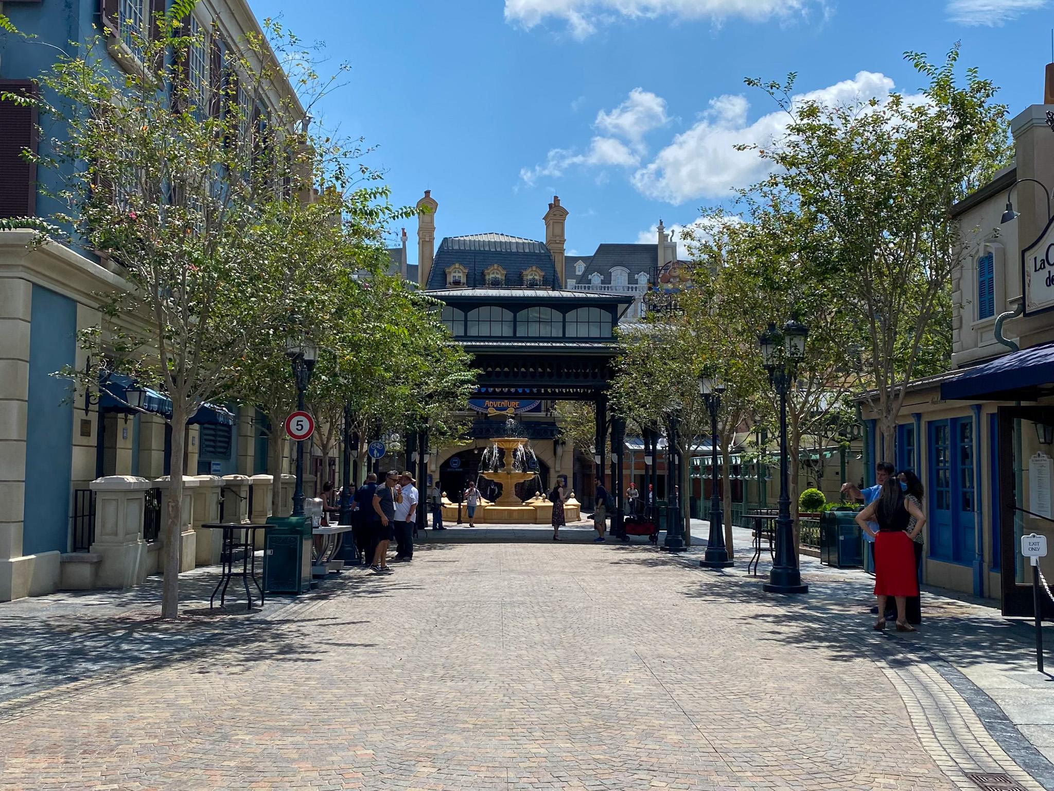 A Look Inside the Expanded France Pavilion: Remy's Ratatouille Adventure and La Creperie de Paris