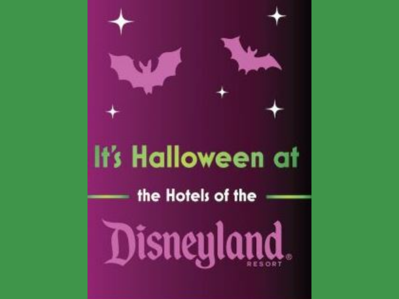 Celebrate Halloween 2021 at Disneyland Resort Hotels