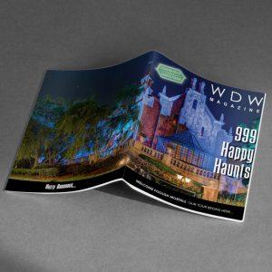 haunted mansion magazine - wdw magazine