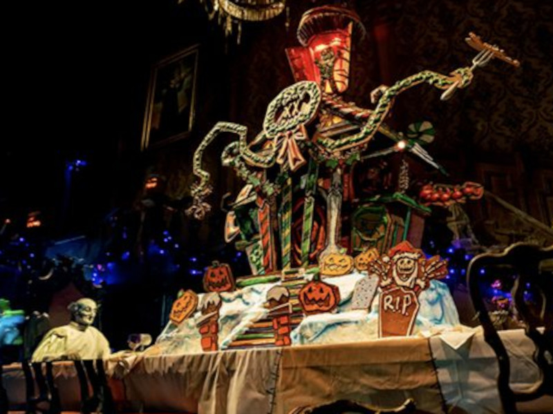 Get a Load of the 2021 Haunted Mansion Gingerbread House