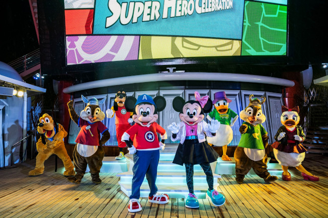 mickey-and-friends-dress-as-superheroes_disney-cruise-marvel-day-at-sea_disney