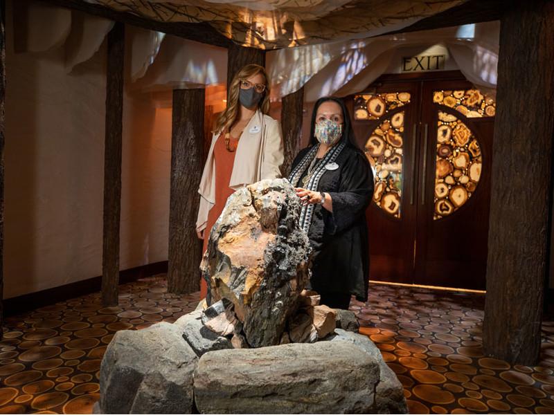 Enjoy a Sneak Peek at the Interior of Tenaya Stone Spa