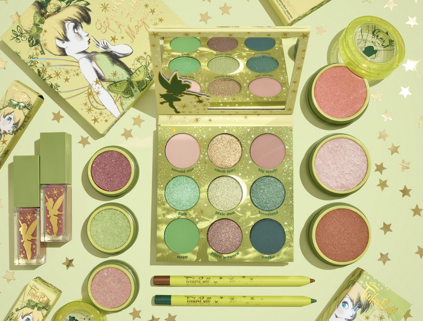 New Disney Tinker Bell Makeup Collection from ColourPop