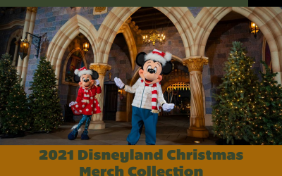 Inside the 2021 Disneyland Christmas Merch Collection