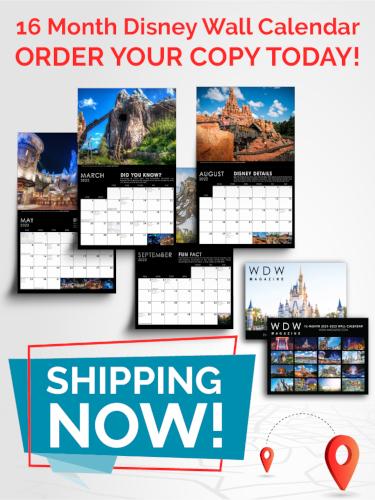 Order Our 16 Month Disney Calendar Before Supplies Run Out!